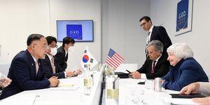 توافق آمریکا و کره جنوبی برای همکاری درباره داراییهای مسدود شده ایران