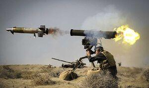 ورود نسل جدید موشک «کورنت ایرانی» به سازمان رزم سپاه/ «الماس زمین پرتاب» دروازه رسیدن به فناوری خاص سلاحهای ضدزره و برد بلند +عکس