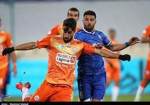 لیگ برتر فوتبال| تساوی سایپا و استقلال در نیمه نخست