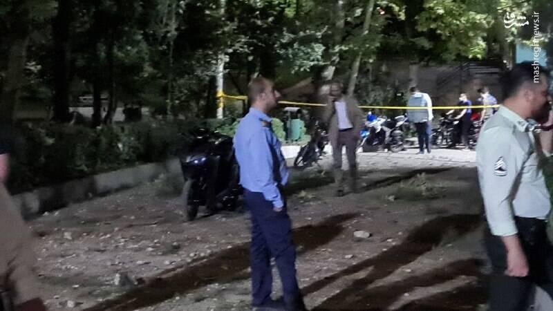 آخرین جزئیات از حادثه انفجار در پارک ملت تهران  عکس و فیلم