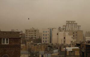 عکس/ طوفان شن در صنعا