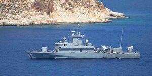 رهگیری شناور موشکانداز یونان از سوی روسیه در دریای سیاه