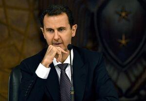 ماکرون مانع دعوت از بشار اسد به اجلاس بغداد شد