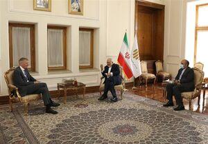 سفیر انگلیس از ظریف خداحافظی کرد +عکس