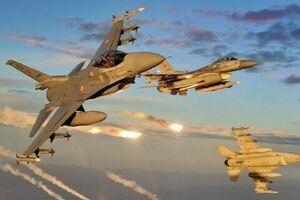 حمله هوایی ترکیه علیه مواضع «پکک» دراستان دهوک - کراپشده