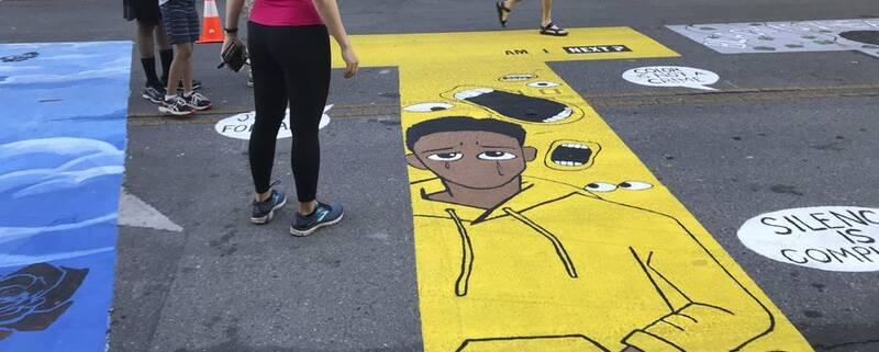 شکایت پلیس آمریکا از یک نقاشی دیواری