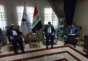 رایزنی سفیر ایران و وزیر بهداشت عراق درباره تردد زوار عتبات