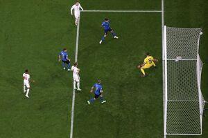 تساوی انگلیس و ایتالیا با سریعترین گل و مسنترین گلزن
