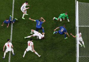 فیلم/خلاصه بازی ایتالیا یک (۳) - انگلیس یک (۲)