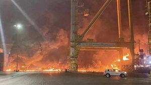 اوجگیری اختلافات و رقابت شدید میان دو همسایه عرب/ آیا انفجار بندر «جبل علی» دبی کار سعودیها بود؟