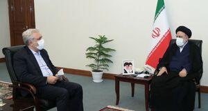 عکس/ دیدار وزیر میراث فرهنگی و گردشگری با رئیسی