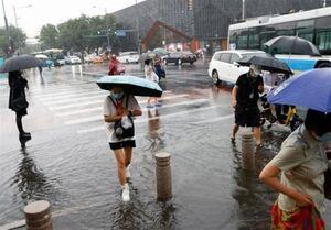 لغو صدها پرواز و تعطیلی مدارس پایتخت چین در پی طوفان شدید