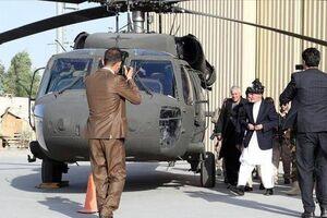 دو فروند بالگرد ارتش افغانستان توسط طالبان منهدم شد