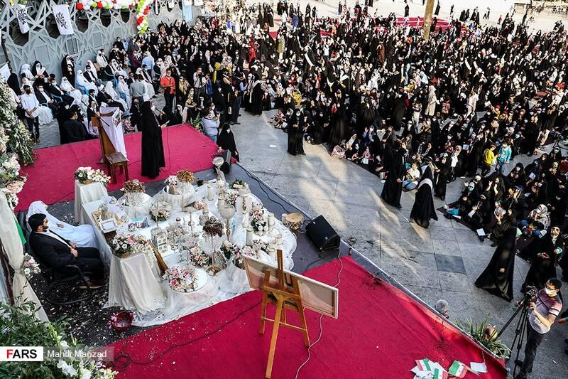 عقد زود جهادگر در مراسم دختران انقلاب
