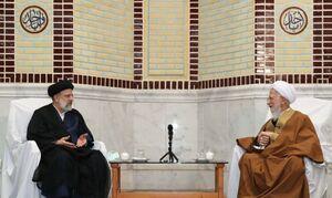 رئیسجمهور منتخب و آیتالله جوادی آملی دیدار کردند