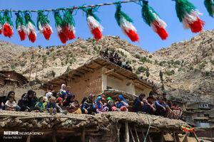 عکس/ مراسم عروسی در روستای سرآقاسید