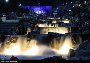 بزرگترین آبشار مصنوعی ایران