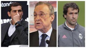 افشای صوت جنجالی فلورنتینو پرز: رائول و کاسیاس کلاهبردارهای رئال مادرید هستند!