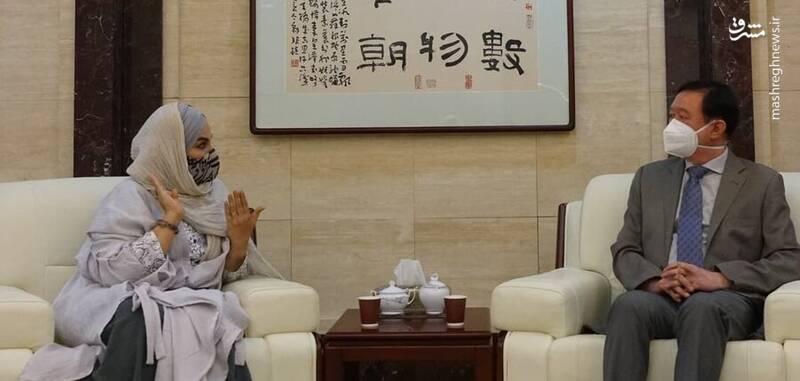 نرگس آبیار در چین فیلم میسازد