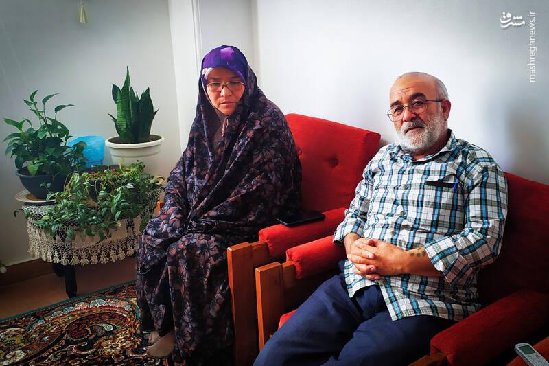 پدر شهید: فرزندانم شناسنامه ندارند! + عکس
