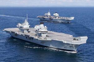 ناوهای انگلیس و آمریکا در خلیج عدن رزمایش برگزار می کنند
