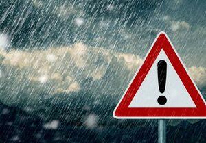 هشدار بارش شدید باران در ۸ استان