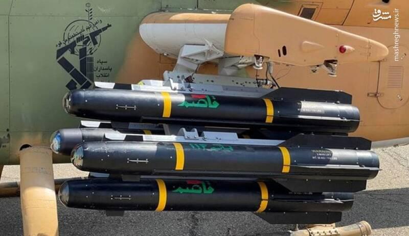 بالگردهای کبری سپاه به «هلفایر ایرانی» مجهز شدند/ نیروهای مسلح با موشک «قاصم» به لبه فناوری ضدزره جهان رسید +عکس