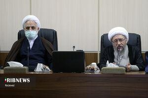 عکس/ جلسه تشخیص مصلحت نظام با حضور رئیس قوه قضائیه