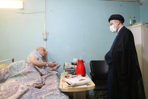 عکس/ حضور سرزده رئیسی در آسایشگاه جانبازان امام خمینی(ره)