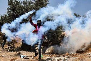 زخمی شدن ۲۸۲ فلسطینی در کرانه باختری