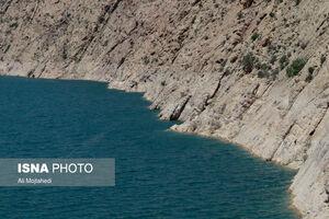 عکس/ آخرین وضعیت سد «الغدیر» ساوه
