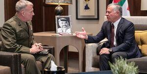 دیدار عبدالله دوم با فرماندهان آمریکایی و کمک ۶۰۰ میلیون دلاری واشنگتن به اردن