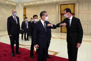 دیدار وزیر خارجه چین با بشار اسد