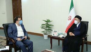 عکس/ دیدار فیروزآبادی و مصطفی رستمی با رئیسی