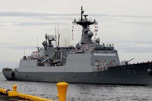 ابتلای بیش از ۷۰ خدمه یک کشتی نظامی کره ای در آفریقا به کرونا