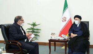 عکس/ دیدار دبیر شورای عالی امنیت ملی با رئیسی