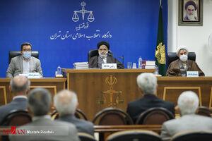 عکس/ دادگاه رسیدگی به اتهامات متهمان پرونده رستمی صفا