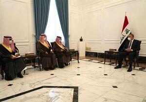 دیدار وزیر اقتصاد سعودی با «الکاظمی»