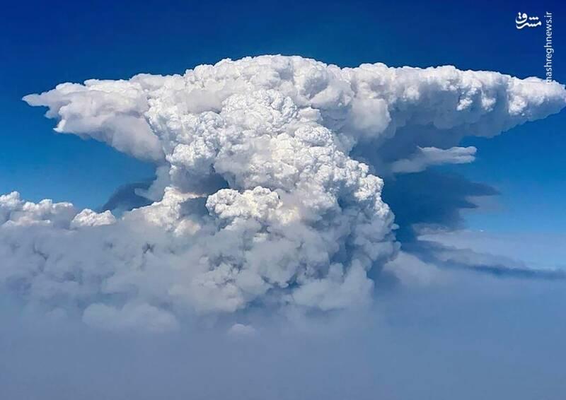 دود آتش سوزی در آسمان اورگان، بیش از 80،000 هکتار دچار حریق شدند