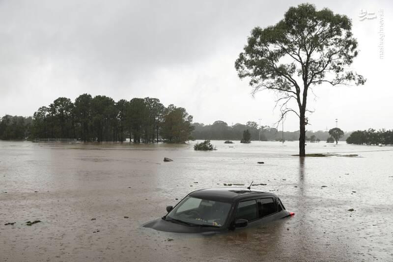 وقوع سیلاب در سیدنی استرالیا