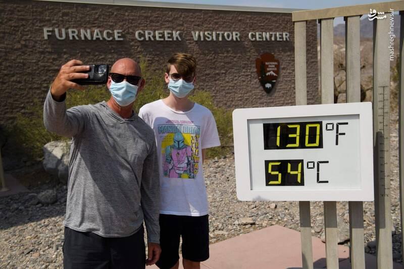 گرمای بی سابقه هوا در تگزاس