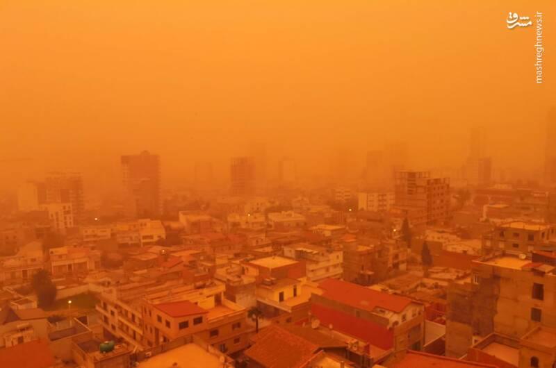 طوفان شن در Oran الجزایر