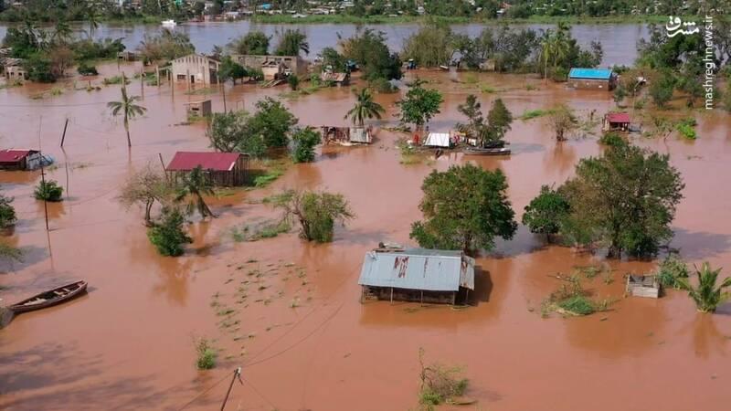 طوفان استوایی در منطقه Buzi موزامبیک