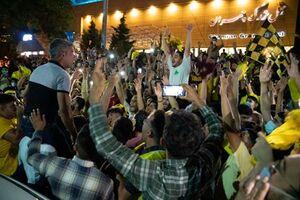 شادی هواداران «فجر شهید سپاسی شیراز»