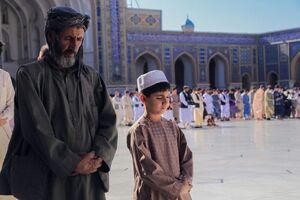 عکس/ نماز عید قربان در هرات افغانستان