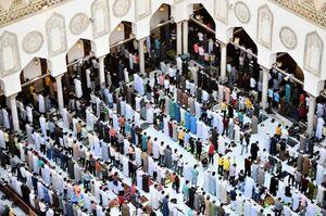 عکس/ برگزاری نماز عید قربان در قاهره