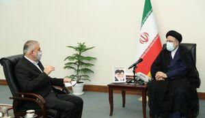 عکس/ دیدار صالحی امیری با رئیس جمهور منتخب