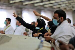 عکس/ مراسم رمی جمرات حجاج عربستانی