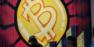 ریزش قیمت بیت کوین در بازار جهانی
