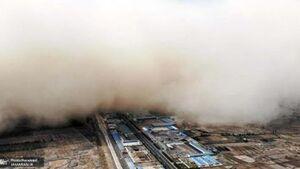 فیلم/ وقوع طوفان شن وحشتناک در چین